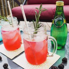 PERRIER Sparkling Blackberry Whiskey Lemonade Add an unexpected twist to your weekend!