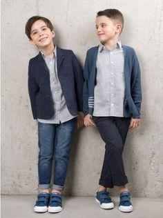 Miller Mars Jacket - Blue | Elias & Grace Childrenswear | ELIAS & GRACE
