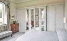 Luxury Fitted Wardrobes Fitted In Burford In The Cotswolds Fitted Wardrobe Interiors, Fitted Wardrobe Doors, Fitted Wardrobe Design, Wardrobe Door Designs, Luxury Wardrobe, Fitted Wardrobes, Closet Designs, Bespoke Wardrobes, Closet Doors