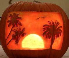 Pumpkin Ideas for Beach Bliss Living: http://beachblissliving.com/beach-pumpkins-fall/
