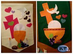 Réaliser une bannière pour la première communion