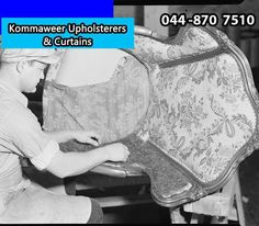 In the early 17th century, an upholstered #chair was a seat of honour. A man siting in an upholstered chair was treated with the upmost respect. #TBT #KommaweerUpholsterers