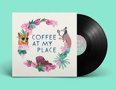 """Check out new work on my @Behance portfolio: """"Coffee at my place""""…"""