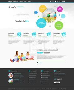 Fresh and Dynamic Design by ~ait-themes on deviantART