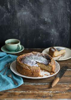 Earl Grey tea milk tart or London Fog (Paleo Chocolate Torte) Slow Cooker Desserts, Tart Recipes, Dessert Recipes, Dip Recipes, Recipies, Milk Tart, Café Chocolate, Desserts Sains, Breakfast Desayunos