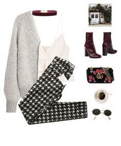 A fashion look from September 2017 featuring fur cardigan, cropped shirts and Isabel Marant. Browse and shop related looks. Nerd Outfits, Classy Outfits, Outfits For Teens, Stylish Outfits, Cool Outfits, Fashion Outfits, Elite Fashion, Going Out Outfits, Outfit Combinations