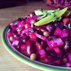 Russian Beet Salad: Venegret - A popular dish in Russia!