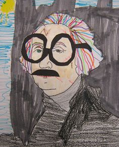 Art in the Middle school: Draw/color what a famous history figure would look like in today's world