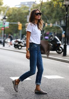 Women Jeans Outfit Beautiful African Dresses Styles Ladies Velvet Trouser Suits Uk Ladies Shorts Summer Pants Men Plus Size Harem Pants Jeans And Heels Outfit Look Casual Otoño, Casual Chic, Style Casual, Mode Outfits, Casual Outfits, Fashion Outfits, Fashion Tips, 2000s Fashion, Fashion 2020