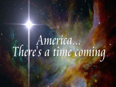 America... There's a time coming - YouTube