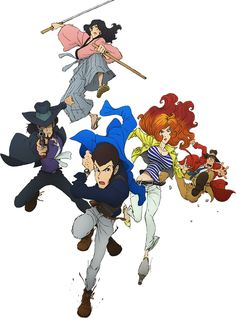 Lupin the Third Manga Manga Anime, Anime Art, Character Art, Character Design, Dylan Dog, Lupin The Third, Popular Anime, Old Cartoons, Family Costumes