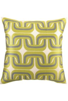 Geo Links Pillows will give any room a sassy splash of color.