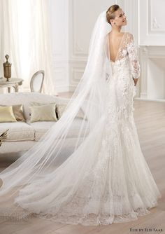 1ebad45a7b685 Elie by Elie Saab Bridal 2014 Collection for Pronovias. Wedding Dress ...