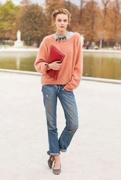 pretty boyfriend jeans outfit