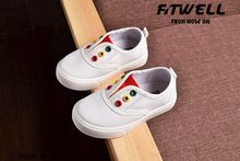 2016 best-selling high quality soft sole children canvas shoes