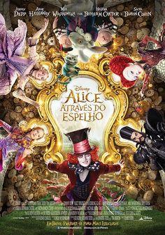 """""""Alice Através do Espelho"""" conta a história do retorno de Alice ao país das maravilhosas. Estreia em maio nos cinemas brasileiros."""