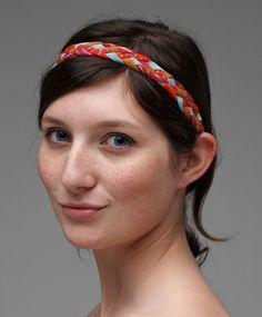 Braided Headband by thiefandbandit on Etsy