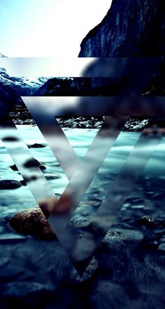 Geometric. Sea. iPhone. Wallpaper.