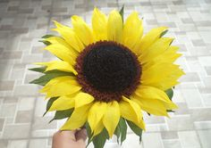 sunflower paper handmade