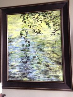 Creek Reflections Reflection, My Arts, Artists, Painting, Painting Art, Paintings, Paint, Draw, Artist