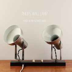 Philips Wall Lamp Shades : Vintage architectural 70 s wall lamp Dijkstra Holland Lamps, Wall lamps and Holland