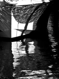 Sunset Dock black and white multiple sizes by WinchesterRed, $18.00