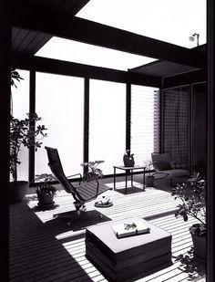 Hunt House, Malibu, California, 1955