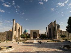 Registan Square – Samarkand Uzbequistão