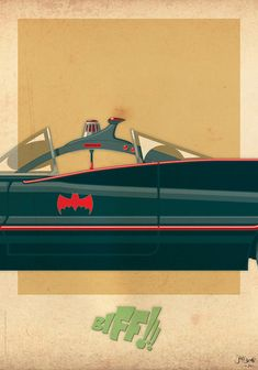 Batmobile; by Jakob Stærmose