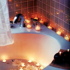毎日のお風呂にちょっとしたアクセント!キャンドルお風呂でリラックス♡