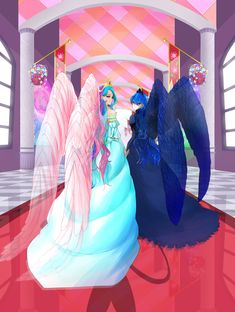My Little Pony Friendship Is Magic Celestia and Luna Princesa Celestia, Celestia And Luna, My Little Pony Princess, My Lil Pony, Twilight Sparkle, Human Mlp, Little Poni, My Little Pony Pictures, Fanart