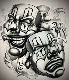 Cholo Tattoo, Chicanas Tattoo, Chicano Art Tattoos, Chicano Drawings, Money Tattoo, Cool Skull Drawings, Badass Drawings, Tattoo Design Drawings, Tattoo Sketches