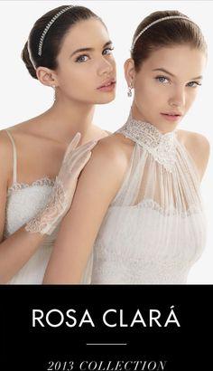 Most beautiful wedding dresses I have ever seen - Rosa Clara