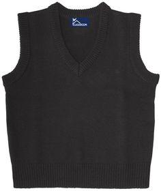 Classroom Uniforms 56914 Adult Unisex V-Neck Sweater Vest, Price/Each Cyber Monday Deals, Vest, Classroom, V Neck, Unisex, Tank Tops, Sweaters, Clothes, Shopping