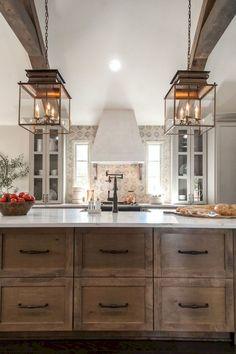 Gorgeous farmhouse kitchen cabinets makeover ideas (3)