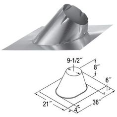 Adjustable 13/12 - 18/12 Roof Flashing - 7' *** To view further for this item, visit the image link.
