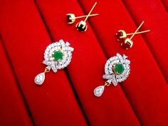 Daphne Six In One Changeable Zircon Earrings for Raksha Bandhan Return Gift – Buy Indian Fashion Jewellery Raksha Bandhan, Green Gifts, Fashion Jewellery, Indian Fashion, Belly Button Rings, Stud Earrings, Stuff To Buy, Jewelry, Jewlery
