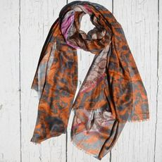 CASHMERE FLORAL WORLD MAP DIGITALLY PRINTED SCARF Each large scarf is woven delicately using cashmere and modal yarn to yield the softest blend. Scarf is digitally printed in our studio in India, using timeless nautical themes. The luxurious fabric and the light-weight materials are perfect for all seasons and occasions.  ...MADE BY HOUSE OF ALVA