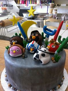 Angry Birds Star Wars cake done by me