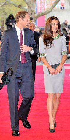 Kate Middleton's Most Memorable Outfits Ever! - April 25, 2012 from #InStyle