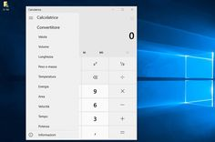 L'app Calcolatrice si aggiorna in Windows 10 e Windows 10 Mobile introducendo i convertitori