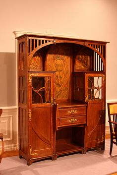 Art Nouveau Furniture, Drents Museum (Horta?) | Flickr - Photo Sharing!