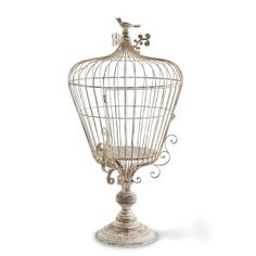 French Country Wire Birdcage