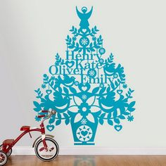 Wall Christmas Tree - Alternative Christmas Tree Ideas_49