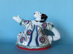 """ A Woman Who Loves Cats "". Original Teapot design . Tiffany Wallace Ceramics 2015 SA."