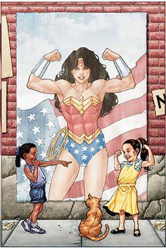 Wonderwoman tecknad sex