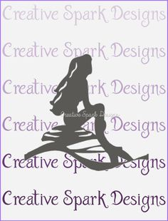 The beloved story of the #mermaid who dreamed of living on land is captured beautifully in this #DIY wall #art project. A silhouetted #Ariel sits against a large moon embellish... #crafts #cricut #silhouette #diy #trending #ariel #disney #svg #image #little #part #world #song #lyrics