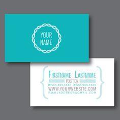 Custom Business Card Design Love the back! Corporate Design, Business Card Design, Branding Design, Logo Design, Simple Business Cards, Custom Business Cards, Letterhead Template, Brochure Template, Doula Business