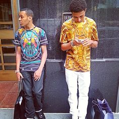 Russy and Diggy Simmons