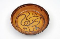 Michael Cardew [1901-1983], a slipware terracotta